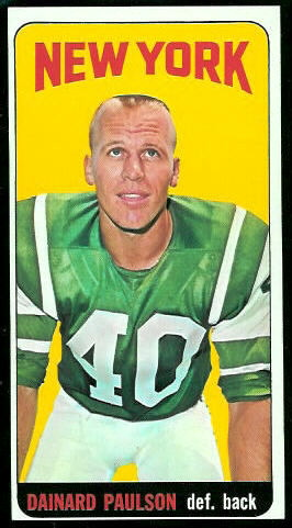 1965 Topps #123 - Dainard Paulson - nm-mt oc