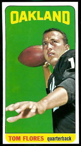 1965 Topps #139 - Tom Flores - nm-mt oc