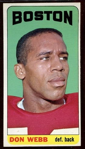 1965 Topps #21 - Don Webb - nm