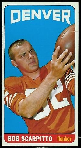 1965 Topps #62 - Bob Scarpitto - ex+
