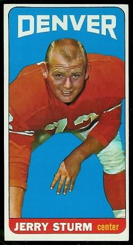1965 Topps #64 - Jerry Sturm - exmt