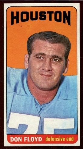 1965 Topps #75 - Don Floyd - nm-mt oc