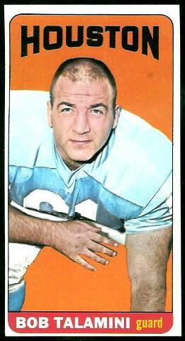 1965 Topps #85 - Bob Talamini - nm oc