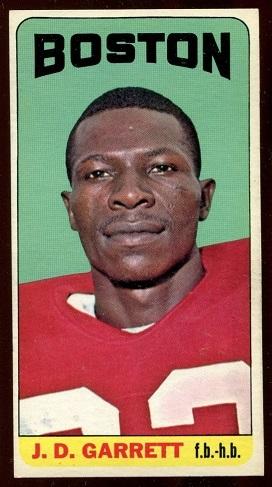 1965 Topps #9 - J.D. Garrett - exmt
