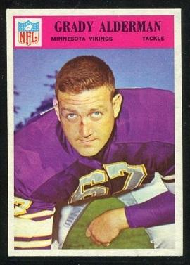 1966 Philadelphia #106 - Grady Alderman - nm