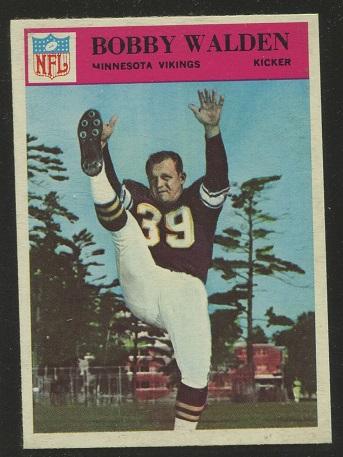 1966 Philadelphia #116 - Bobby Walden - nm