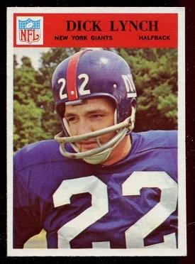 1966 Philadelphia #126 - Dick Lynch - nm