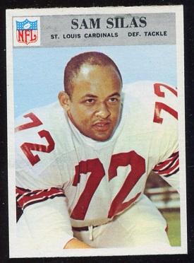 1966 Philadelphia #166 - Sam Silas - nm