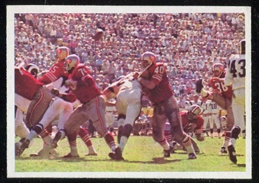 1966 Philadelphia #182 - 49ers Play - nm