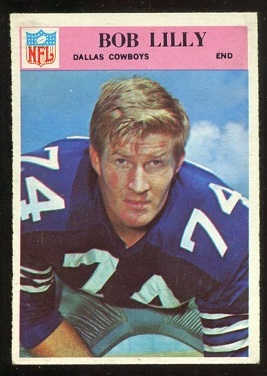 1966 Philadelphia #60 - Bob Lilly - nm oc