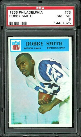 1966 Philadelphia #73 - Bobby Smith - PSA 8