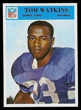 1966 Philadelphia #77 - Tom Watkins - exmt