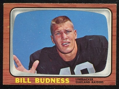 1966 Topps #105 - Bill Budness - nm