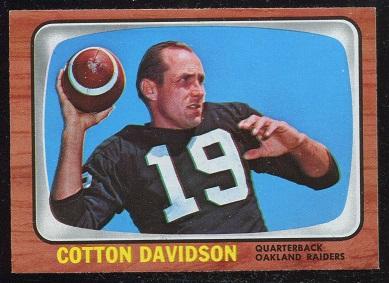 1966 Topps #109 - Cotton Davidson - exmt