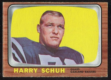 1966 Topps #117 - Harry Schuh - nm