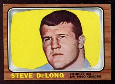 1966 Topps #121 - Steve DeLong - nm