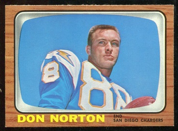 1966 Topps #129 - Don Norton - nm