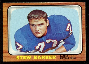 1966 Topps #16 - Stew Barber - nm