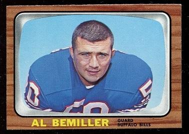 1966 Topps #19 - Al Bemiller - nm