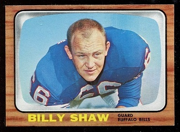 1966 Topps #29 - Billy Shaw - nm