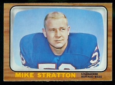 1966 Topps #30 - Mike Stratton - exmt