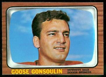 1966 Topps #33 - Goose Gonsoulin - nm-mt oc