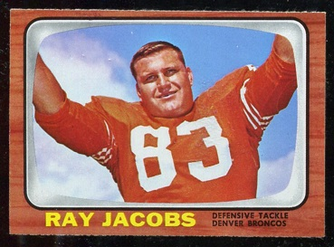 1966 Topps #37 - Ray Jacobs - nm+