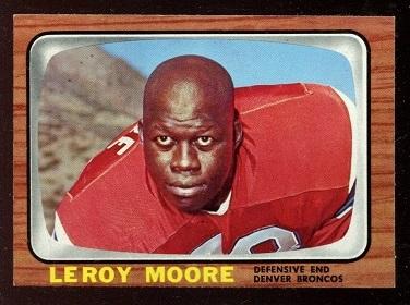 1966 Topps #41 - Leroy Moore - nm