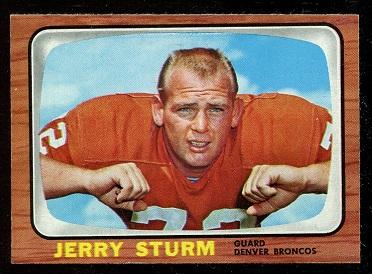 1966 Topps #44 - Jerry Sturm - nm
