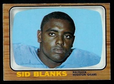 1966 Topps #49 - Sid Blanks - exmt