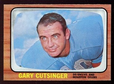 1966 Topps #52 - Gary Cutsinger - nm