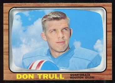 1966 Topps #60 - Don Trull - nm