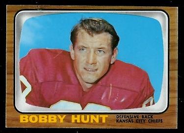 1966 Topps #71 - Bobby Hunt - ex