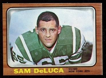 1966 Topps #91 - Sam DeLuca - nm