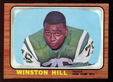 1966 Topps #92 - Winston Hill - nm