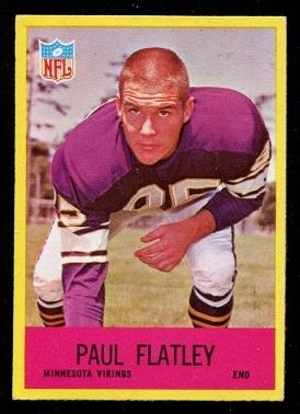 1967 Philadelphia #101 - Paul Flatley - exmt