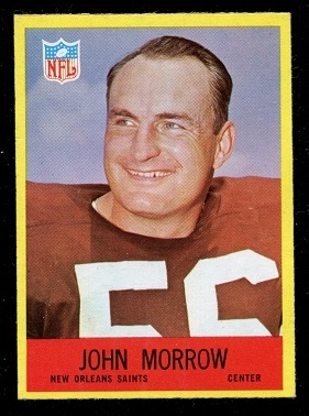 1967 Philadelphia #128 - John Morrow - nm