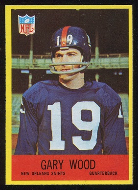 1967 Philadelphia #131 - Gary Wood - nm
