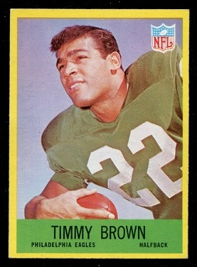 1967 Philadelphia #136 - Timmy Brown - nm