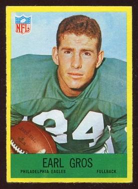 1967 Philadelphia #137 - Earl Gros - nm
