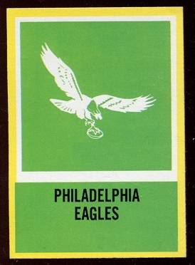 1967 Philadelphia #144 - Eagles Logo - nm+