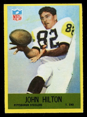 1967 Philadelphia #151 - John Hilton - exmt