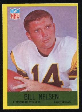 1967 Philadelphia #155 - Bill Nelsen - exmt