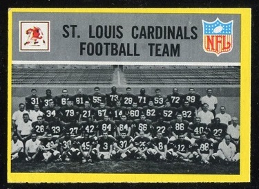 1967 Philadelphia #157 - St. Louis Cardinals Team - ex