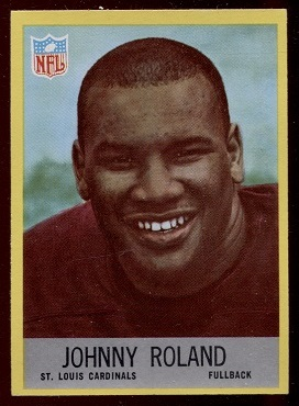 1967 Philadelphia #163 - Johnny Roland - nm