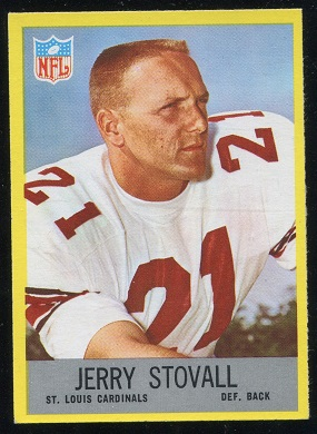 1967 Philadelphia #166 - Jerry Stovall - nm