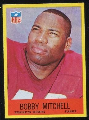 1967 Philadelphia #186 - Bobby Mitchell - nm