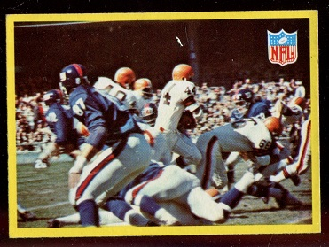 1967 Philadelphia #193 - Browns Play - nm