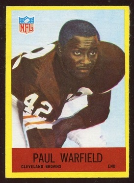 1967 Philadelphia #46 - Paul Warfield - ex