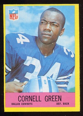 1967 Philadelphia #51 - Cornell Green - ex